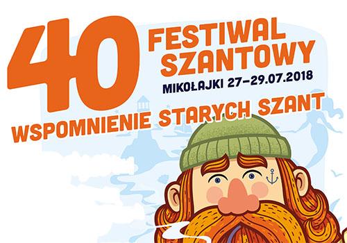 40 Festiwal Szantowy. Wspomnienie starych szant.