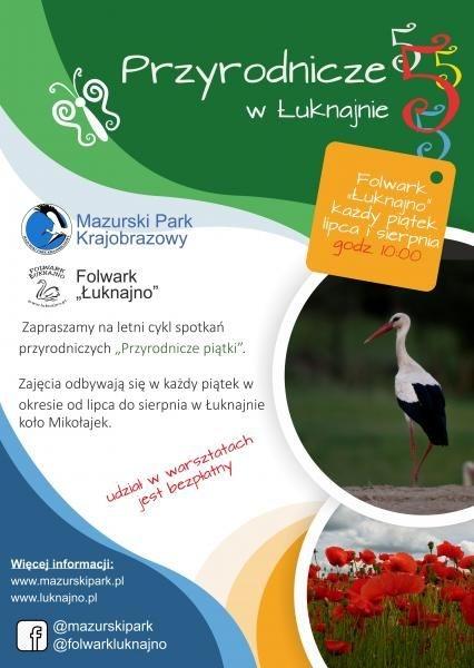 Obraz do wydarzenia: Przyrodnicze piątki w Łuknajnie
