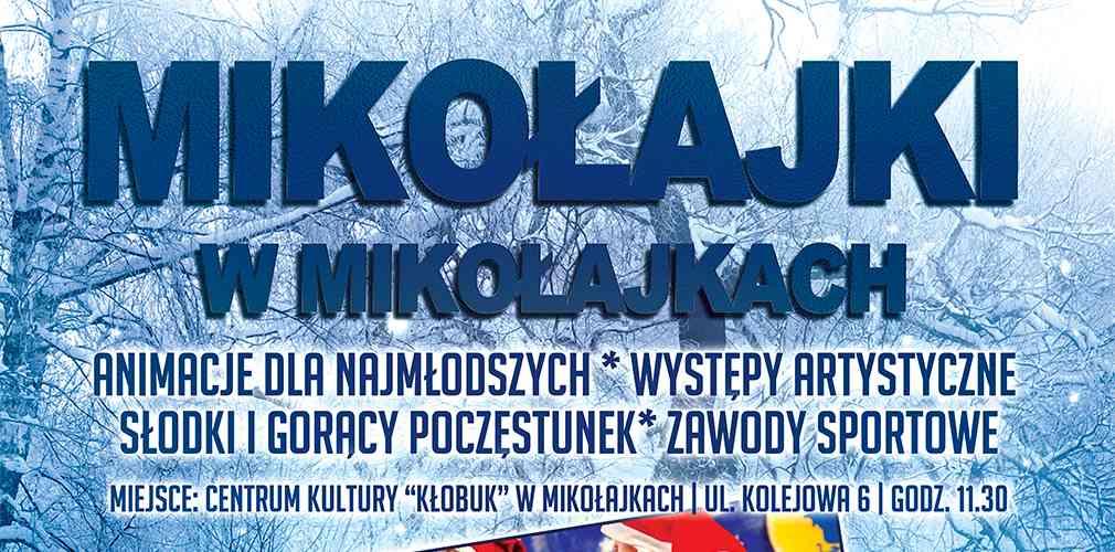Mikołajki w Mikołajkach!