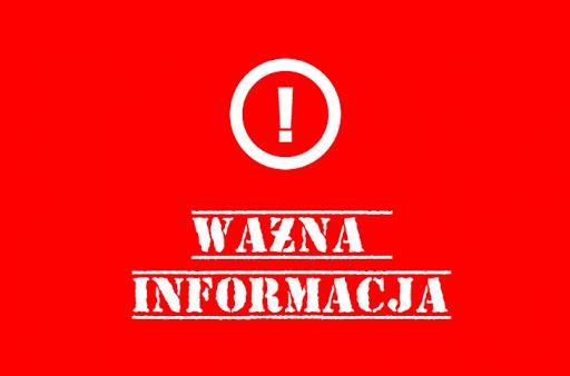 KOMUNIKAT! Urząd Miasta i Gminy oraz MGOPS zamknięty dla interesantów